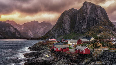 Stormy Hamnoy Poster