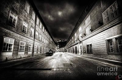 Stormy Salzburg Poster by Luke Griffin