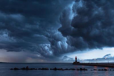 Stormy Skies Poster by Alex Ganeev