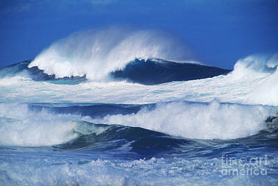 Stormy Water Poster by Carl Shaneff - Printscapes