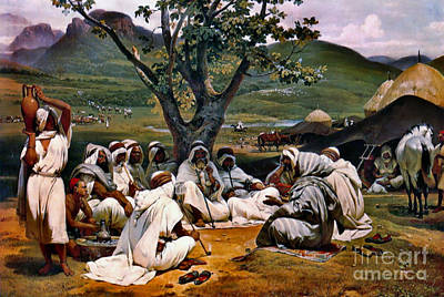 Storyteller 1833 Poster by Padre Art