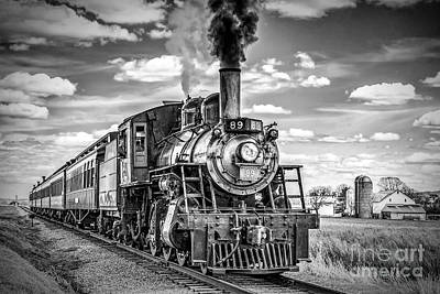Poster featuring the photograph Strasburg Canadian National 89 by Nick Zelinsky
