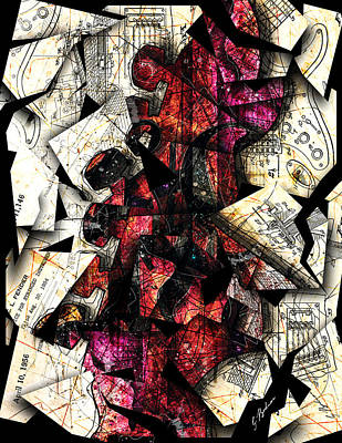Stratavaria Moderna 01 Poster by Gary Bodnar