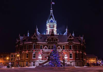 Stratford City Hall Christmas Poster
