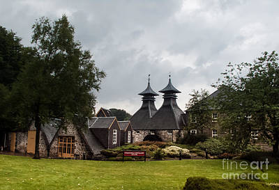 Poster featuring the photograph Strathisla Whisky Distillery Scotland #3 by Jan Bickerton