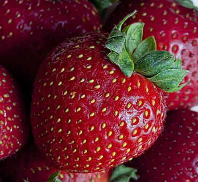 Strawberry 3 Poster