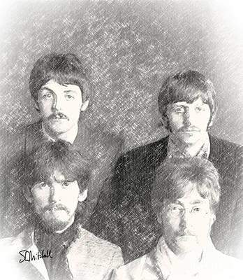 Strawberry Beatles  Poster