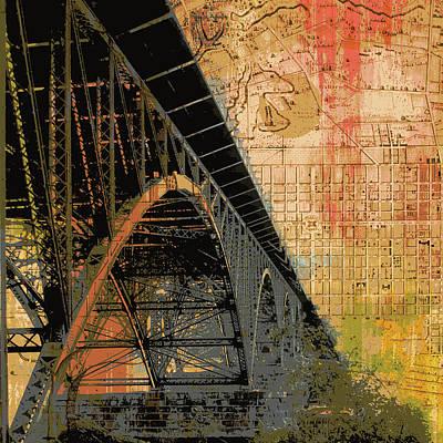 Strawberry Mansion Bridge Philadelphia Pa Poster by Brandi Fitzgerald