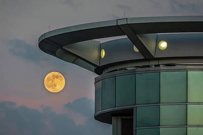 Strawberry Moon - Radisson Plaza Hotel Poster