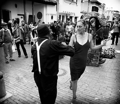 Street Dancing Poster by Daniel Gomez