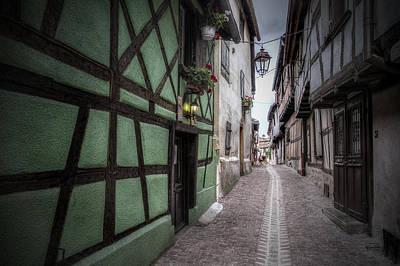 Street In Riquewihr, Alsace Poster