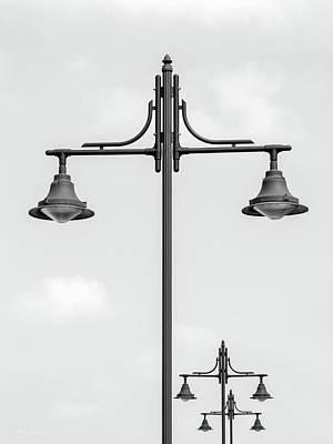 Street Lights Poster by Wim Lanclus