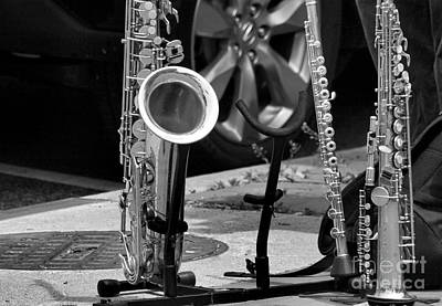 Street Music Poster by John S