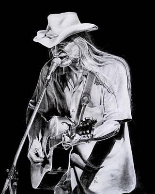 Street Musician Poster by Patrick Entenmann