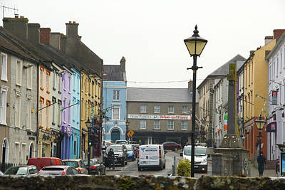 Poster featuring the photograph Streets Of Cahir by Marie Leslie