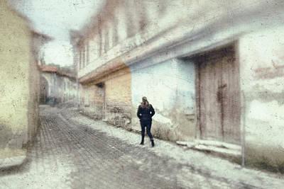 Street Poster by Okan YILMAZ