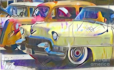 Street Rods Poster