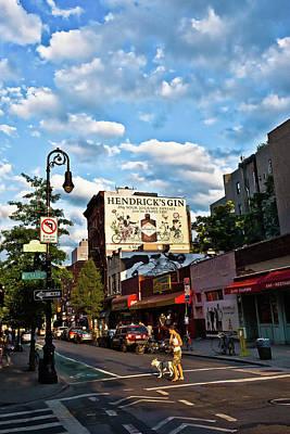 Street Scene In New York Poster