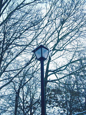Streetlamp Poster