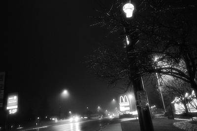 Poster featuring the photograph Streetlights by Jeanette O'Toole