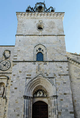 Streets Of Italy - Guardiagrele Cathedral 4 Poster