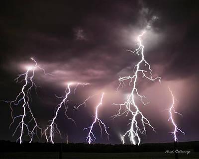 Striking Memories Thunderstorm Poster by Reid Callaway