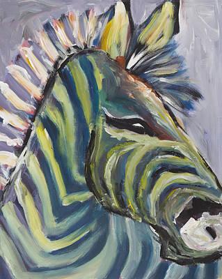 Stripes Poster by Chelle Fazal