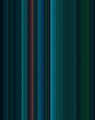 Stripes Of A Moment #v001 Poster
