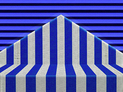 Poster featuring the photograph Stripes by Paul Wear