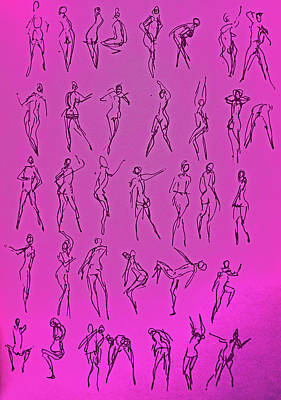 Stripper Gestures Poster