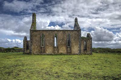 Stthomas Church In Aran Islands, Inis Mor Poster by Enrico Pelos
