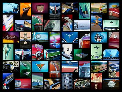 Studebaker Art -01 Poster by Jill Reger