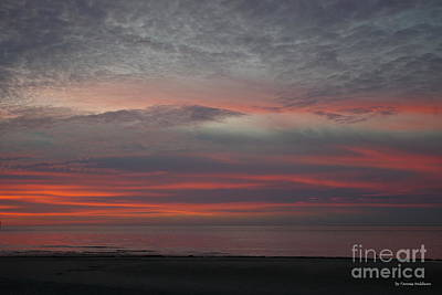 Stunning Cape Charles Sunset Poster by Tannis Baldwin