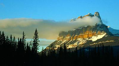 Stunning Mountain Poster by Mario Brenes Simon