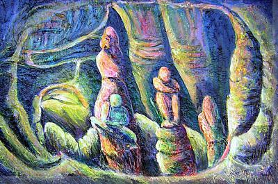 Subterranean Fantasy Poster by Lee Nixon