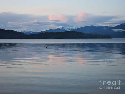 Subtle Sunset On Priest Lake Poster by Carol Groenen