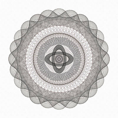 Subtle Zen Light Poster by Georgiana Romanovna