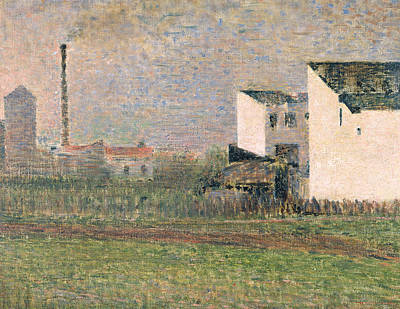 Suburb Poster by Georges Pierre Seurat