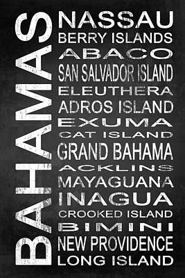 Subway Bahamas 1 Poster by Melissa Smith
