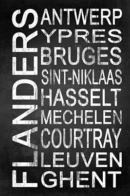 Subway Flanders Belgium 1 Poster