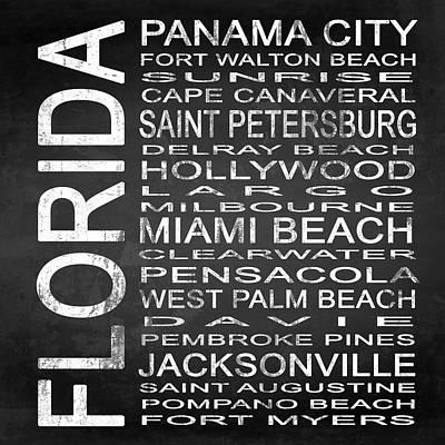 Subway Florida State Square Poster