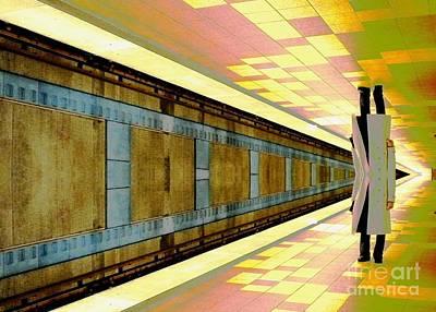 Subway Man Poster