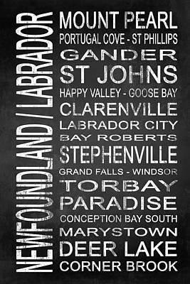 Subway Newfoundland Labrador Canada 1 Poster
