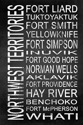 Subway Northwest Territories Canada 1 Poster by Melissa Smith