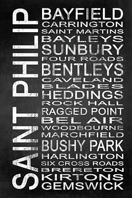 Subway Saint Philip Barbados 1 Poster by Melissa Smith