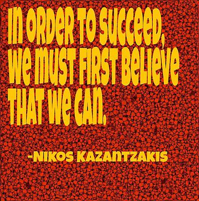 Succeed Poster