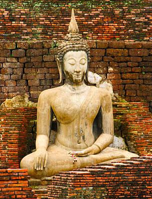 Sucuthai Buddha Poster