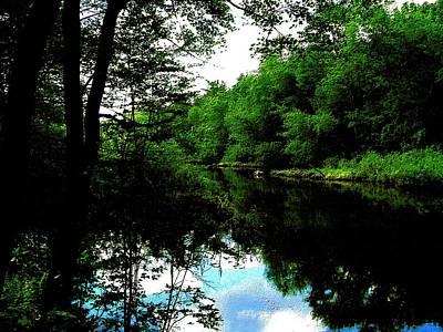 Sudbury River In Ashland Poster