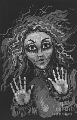 Sudden Appearance Poster by Margaryta Yermolayeva