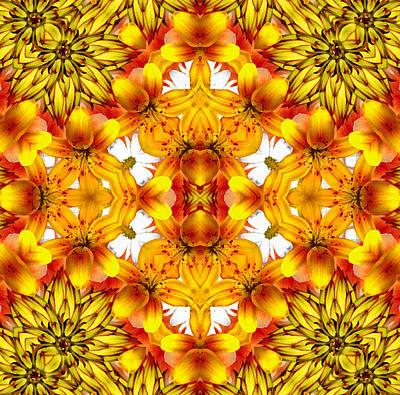 Sudden Heat Mandala Poster